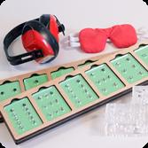 Коррекционно-развивающий комплект «Сенсорные пластины»